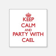 Keep Calm and Party with Cael Sticker