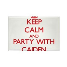 Keep Calm and Party with Caiden Magnets