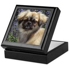 Faithful Tibetan Spaniel Keepsake Box