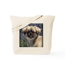 Faithful Tibetan Spaniel Tote Bag