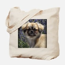 Faithful Tibetan Spaniel Tote Bag
