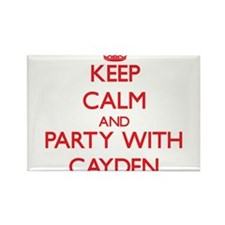 Keep Calm and Party with Cayden Magnets