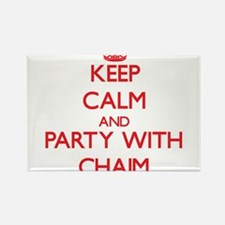 Keep Calm and Party with Chaim Magnets