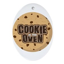 Cookie in the Oven™ Ornament (Oval)
