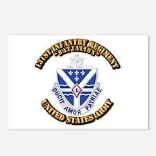 DUI - 131st Infantry Regiment (Battalion) With Tex