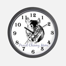 Chinny Mom Wall Clock