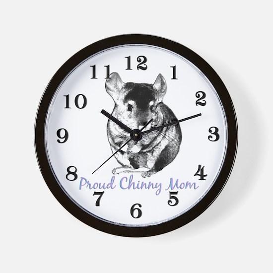 Chinny Mom Wall Clock