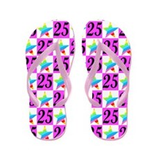 WONDERFUL 25TH Flip Flops
