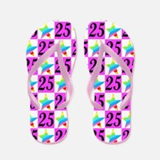 WONDERFUL 25TH Flip Flops