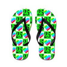 DARLING 25TH Flip Flops