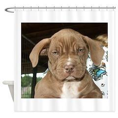 8wksfacegood.jpg Shower Curtain