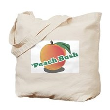 'Peach Bush Tote Bag