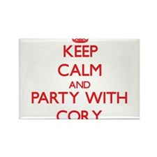 Keep Calm and Party with Cory Magnets