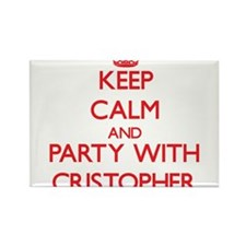 Keep Calm and Party with Cristopher Magnets