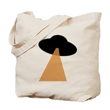 Alien UFO Tote Bag