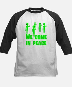 We Come In Peace Baseball Jersey