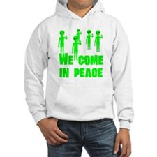 We Come In Peace Jumper Hoody