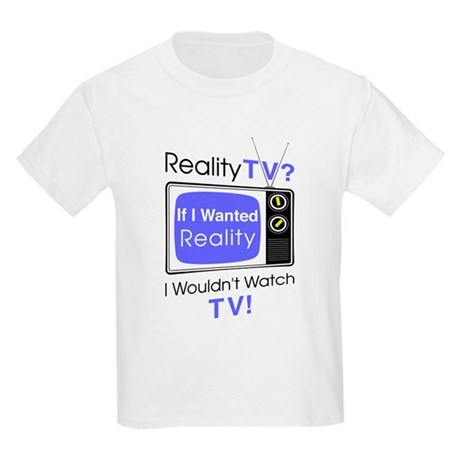 Reality TV Kids Light T-Shirt