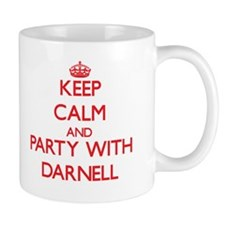 Keep Calm and Party with Darnell Mugs