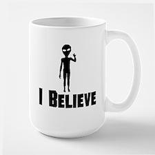 I Believe Alien Mugs