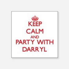 Keep Calm and Party with Darryl Sticker