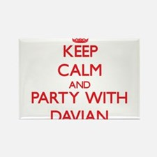 Keep Calm and Party with Davian Magnets