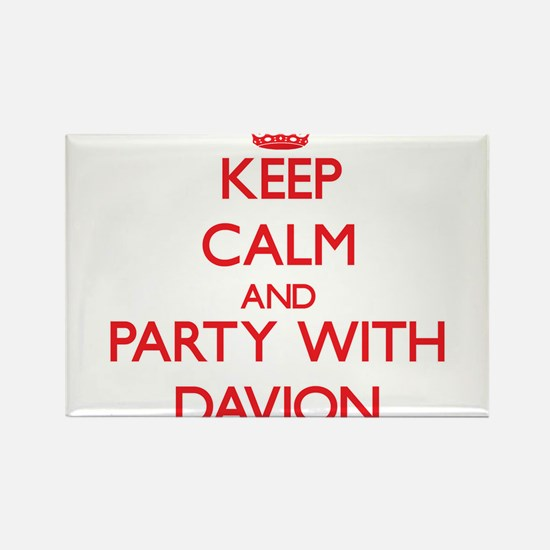 Keep Calm and Party with Davion Magnets