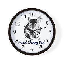 Chinny Dad Wall Clock