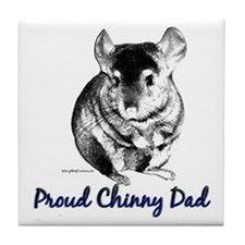 Chinny Dad Tile Coaster