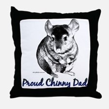 Chinny Dad Throw Pillow