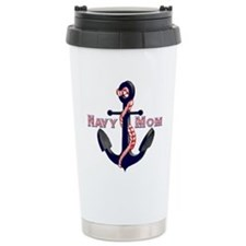 Funny Navy mom Travel Mug