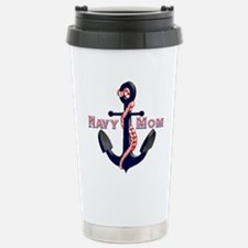 Funny Navy mom Travel Mug