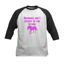 Pink Unicorns Dont Believe In You Either Baseball