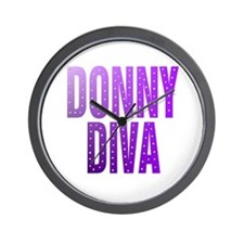 Cute Donnie osmond Wall Clock