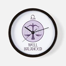 WELL BALANCED Wall Clock