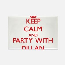 Keep Calm and Party with Dillan Magnets