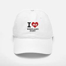 I love my Shetland Pony Baseball Baseball Cap