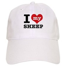 I love my Sheep Baseball Cap