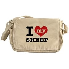 I love my Sheep Messenger Bag