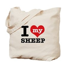 I love my Sheep Tote Bag