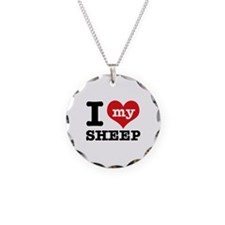 I love my Sheep Necklace