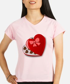 Candy For My Valentine Performance Dry T-Shirt