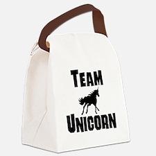 Team Unicorn Canvas Lunch Bag