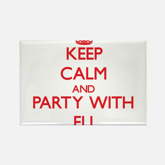 Keep Calm and Party with Eli Magnets
