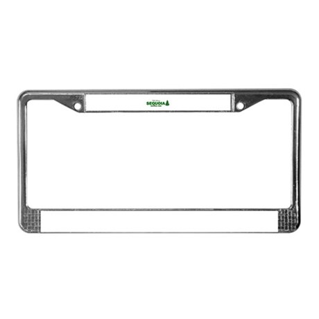 Visit Scenic Sequoia National License Plate Frame