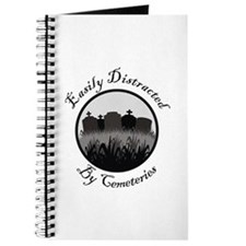 Easily Distracted By Cemeteries Journal