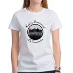 Easily Distracted By Cemeteries Women's T-Shirt