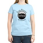 Easily Distracted By Cemeteries Women's Light T-Sh
