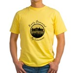 Easily Distracted By Cemeteries Yellow T-Shirt