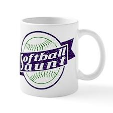 Softball Aunt Mugs
